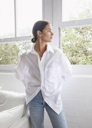 Идеальная белая рубашка бойфренда оверсайз