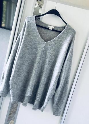 Ворсистый мягкий oversize свитер от h&m
