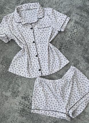Красивая пижама домашний комплект пижама