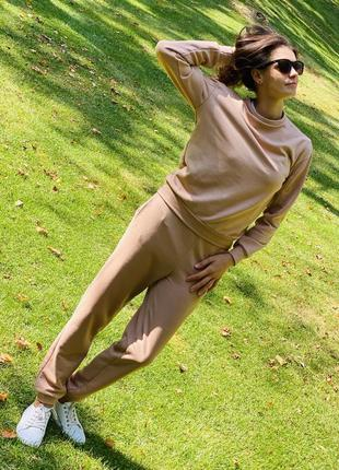 Костюм спортивный женский базовый! супер качество и комфорт 👍🏼