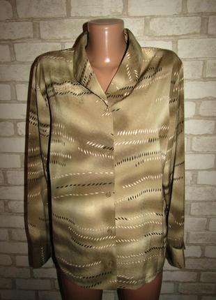 Красивая рубашка р-р 18 бренд mariette
