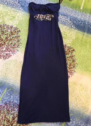 Платье длинное л-хл