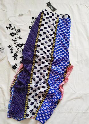 Шикарная юбка / миди макси / прямая с разрезами / высокая посадка