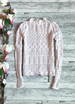 Очень нежный женственный свитер h&m