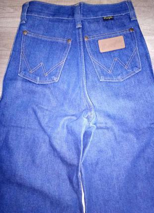 Джинсы брюки кюлоты расклешенные  размер xxs