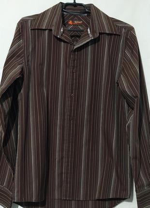 Рубашка мужская коттоновая