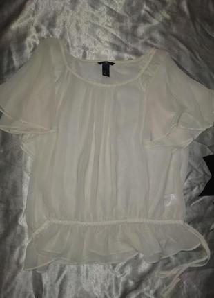 Блуза прозрачная, очень красивая