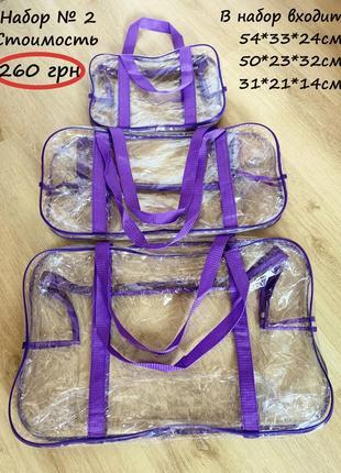 Яркий набор сумочек в роддом