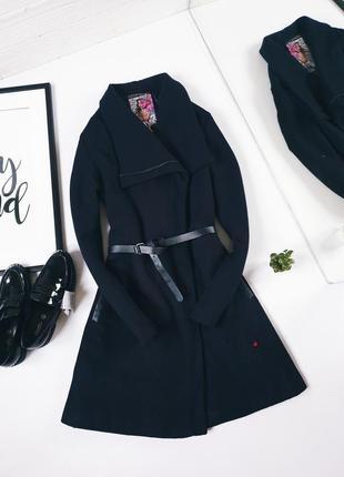Пальто шерсть шерстяное на синтапоне