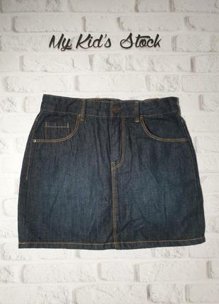 Джинсова спідничка юбка kiabi