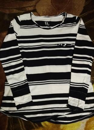 Лонгслив футболка с длинным рукавом basic