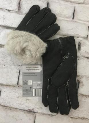 Зимние перчатки мужские очень теплые рукавицы овчина