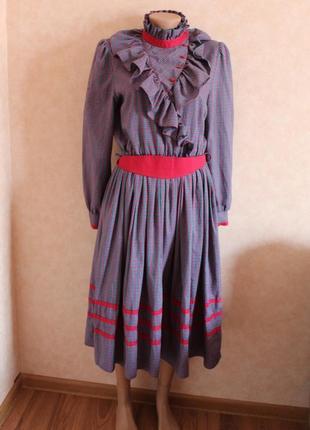 Платье, винтаж, для театра, фестиваля, нарядное, фольклор
