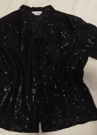 Блуза с майкой  damart  2в1/ размер 22.