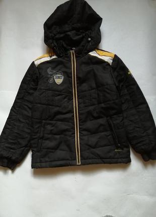 Осенняя димисезонная куртка на р 140