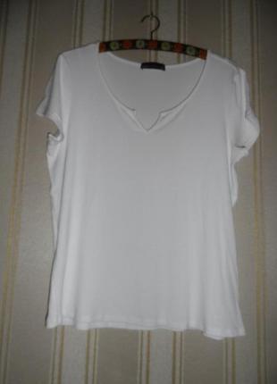 Женская футболка в рубчик размер 46 // 3xl