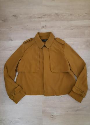 Пиджак накидка zara оригинал размер м