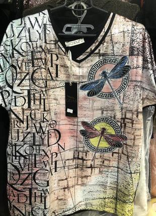 Шикарная блузка футболка