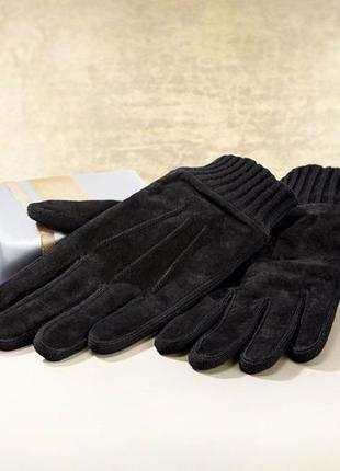 Замшевые перчатки livergy германия  размер указан - 9,5