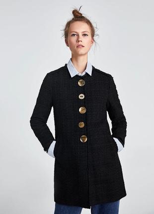 Красивейшее твидовое пальто zara❤️