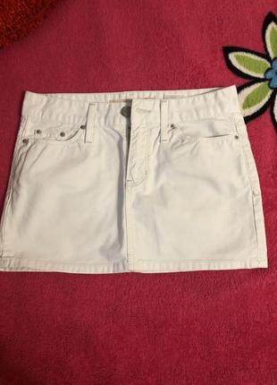 Юбка джинсовая gap