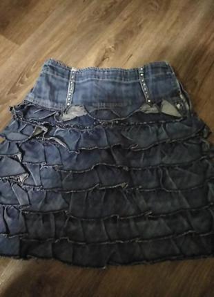 Юбочка джинс.