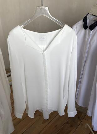 Базовая блуза vila