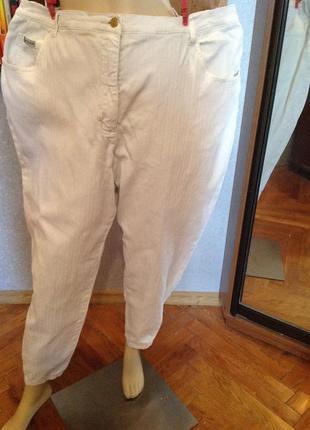 Большой размер. джинсы мом в рубчик бренда john baner, р. 66-68
