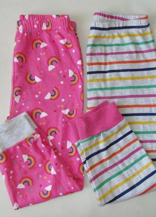 Набор 2 шт. пижама низ штаны 2-3 года 98 см primark англия 24-36 мес