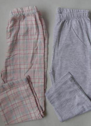 Пижамные штаны 2 шт набор primark англия 24-36 мес 2-3 года