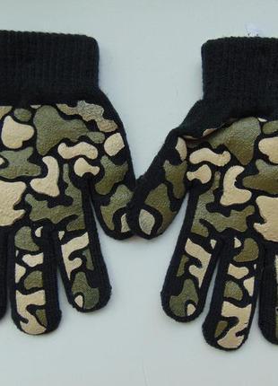 Перчатки детские «маскировочная сетка», бренд «joe boxer»