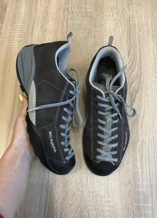 Scarpa 40-40,5 р италия тоекинговые кроссовки ботинки кросівки черевики .