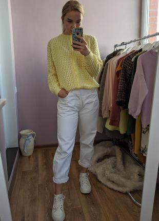 Кофта, свитер жёлтая.