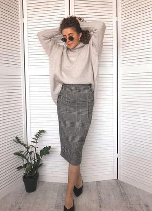Oversize свитер (в составе есть шерсть)