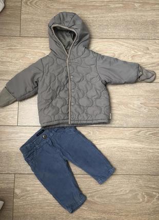 Демисезонная куртка mexx p.4-6мес