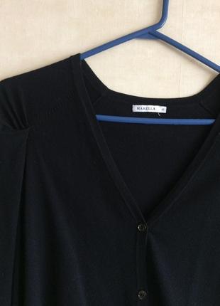 Кофта кардиган брендовый чёрный