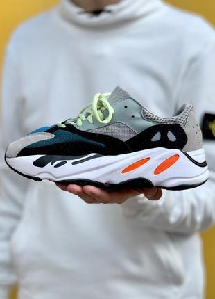 Adidas yeezy 700 grey/black/orange