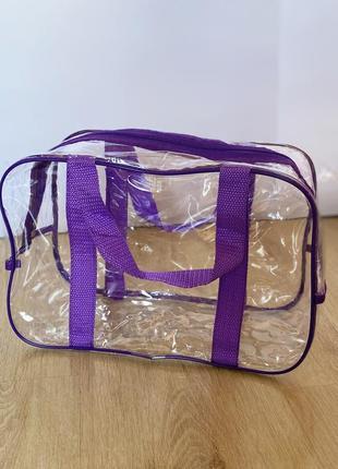 Яркая сумочка в роддом маленькая