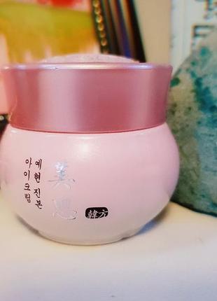 Омолаживающий питательный крем для кожи вокруг глаз missha misa yei hyun jinbon eye cream