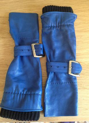 Перчатки из натуральной и очень мягкой кожы georgio armani, покупала в италии.