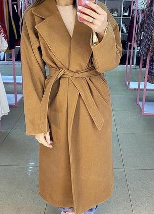 Пальто из кашемира camel 🐪