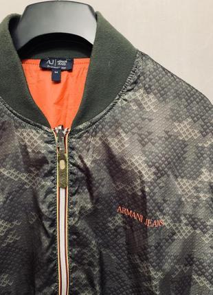 Ветровка куртка бомбер armani jeans