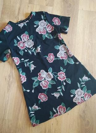 Платье, платье короткое, платье трапеция, плаття