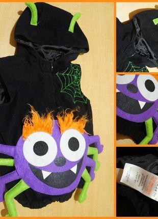 Карнавальный костюм 3-4 года карнавальний хелловін хэллоуин паук