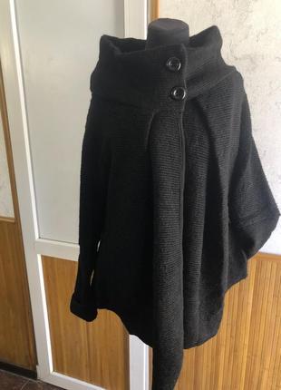 Шикарный итальянский шерстяной кардиган стиль бохо