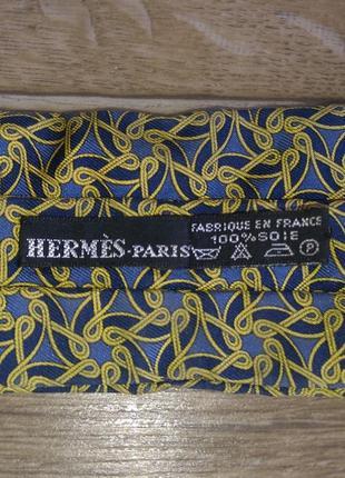 Hermès paris оригинал hermes шарф аскот галстук шёлк