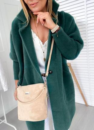 Пальто натуральная ткань