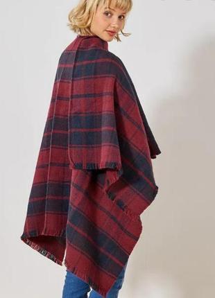 Пончо накидка палантин шарф