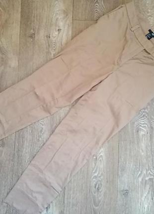 Укороченные штаны брюки