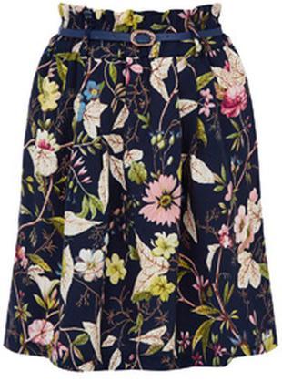 Юбка с цветочным принтом oasis